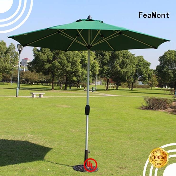 wind up garden umbrella for advertising