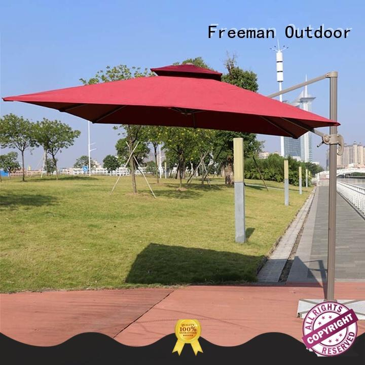 FeaMont colorfastness black garden umbrella wholesale for sporting