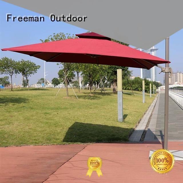Freeman Outdoor fine- quality large garden umbrellas rome for sporting