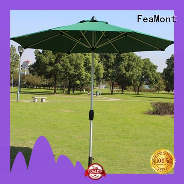 FeaMont fine- quality outdoor umbrella sensing