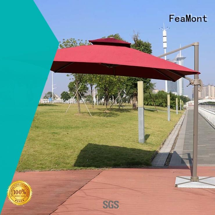 reliable wind up garden umbrella square production for sport events