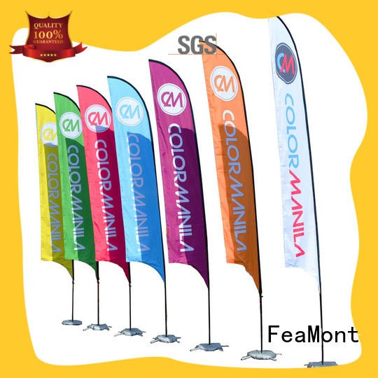 FeaMont newly flag banners wholesale for outdoor activities