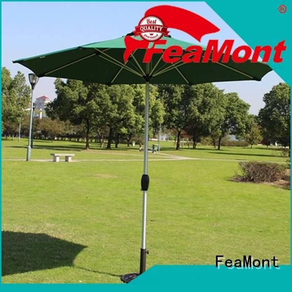 FeaMont rome wind up garden umbrella cancopy for event