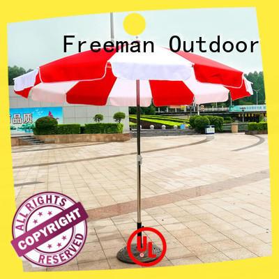industry-leading custom beach umbrella type for disaster Relief Freeman Outdoor
