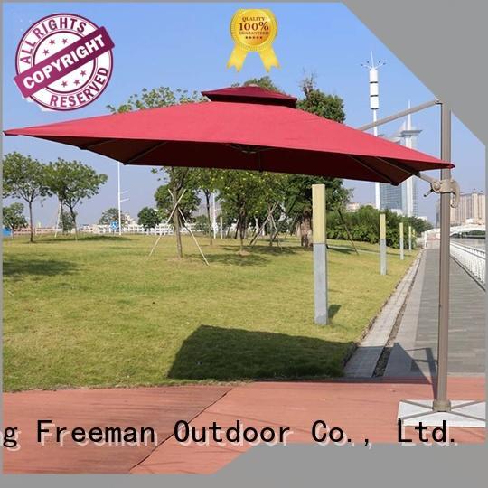 outdoor patio umbrella aluminum in different color for advertising