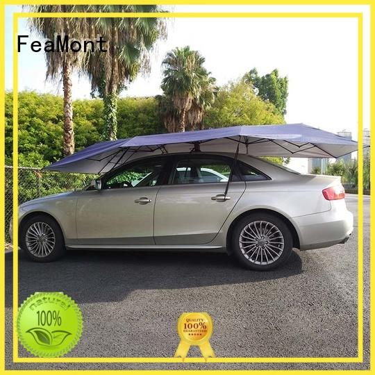 FeaMont quality car umbrella in different shape for sport events