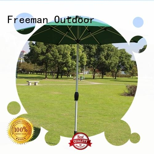 FeaMont base garden umbrella in different color in street