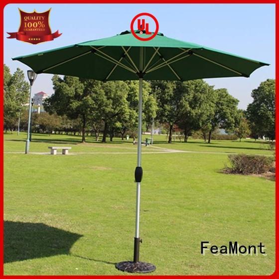 FeaMont rome garden umbrella sensing