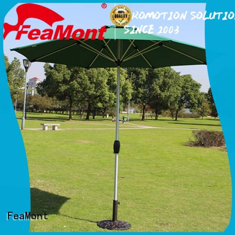 FeaMont double-top large garden umbrellas sensing for disaster Relief