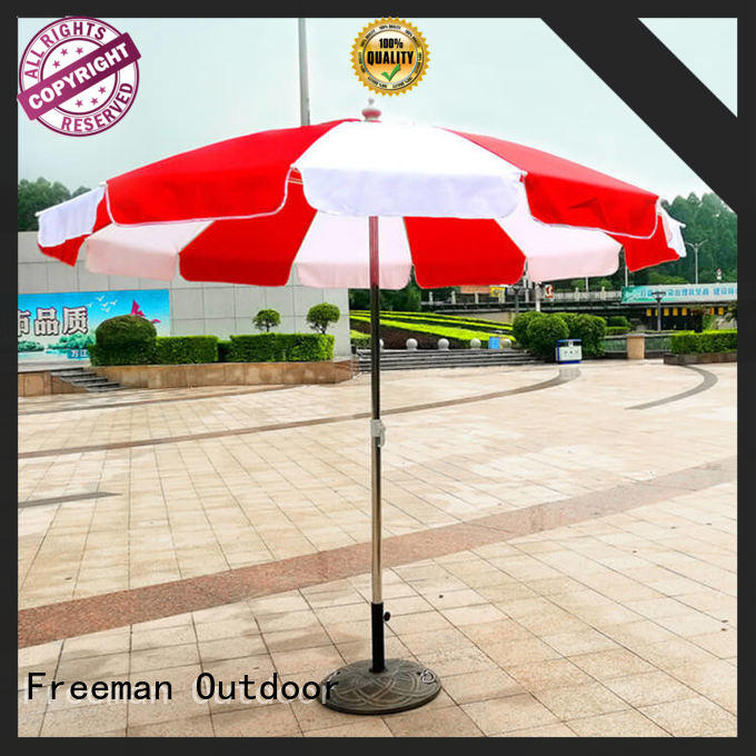 pole red beach umbrella owner for party FeaMont