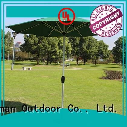 FeaMont umbrella black garden umbrella sensing for sporting