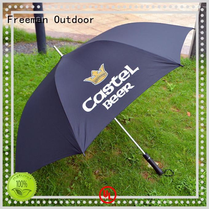 pongee canvas umbrella marketing