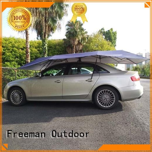 Freeman Outdoor inexpensive automatic car umbrella in-green for engineering