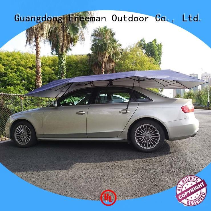 best automatic car umbrella Silver cancopy for trade show