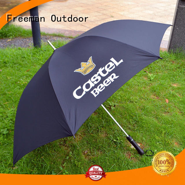 golf promotional umbrella top Freeman Outdoor