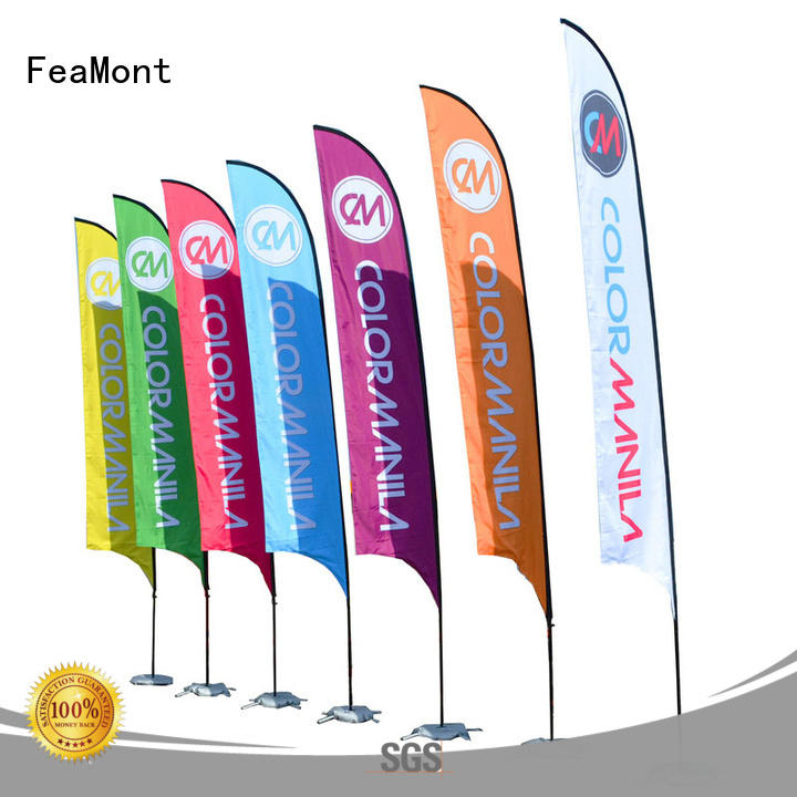 printed event flag beach wholesale for outdoor activities