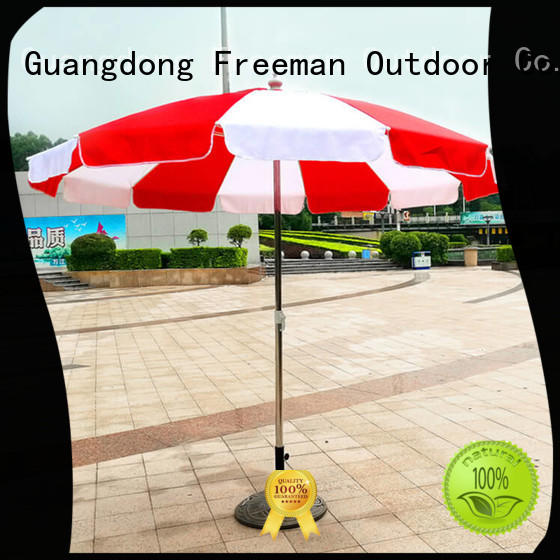 FeaMont new-arrival beach parasol price for disaster Relief