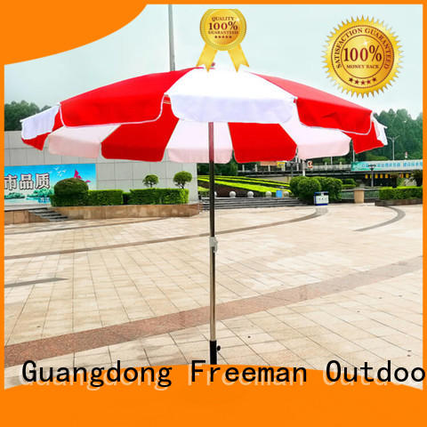 FeaMont frame outdoor beach umbrella effectively for camping