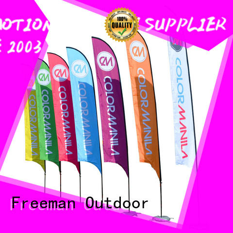 FeaMont advertising custom advertising flags for sale for outdoor exhibition