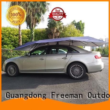 Freeman Outdoor first-rate car umbrella tent Silver for sport events