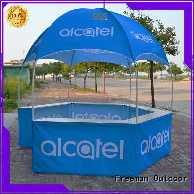 Freeman Outdoor tent Hexagonal dome booth package for trainning events