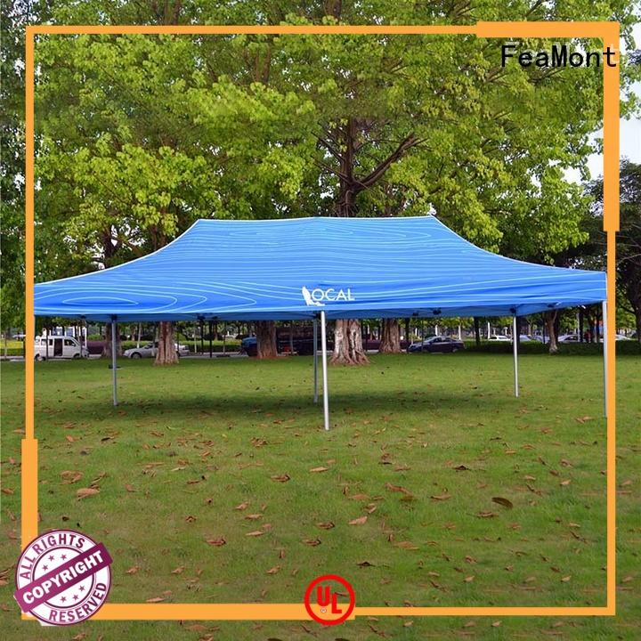 FeaMont folding pop up canopy tent certifications for sporting