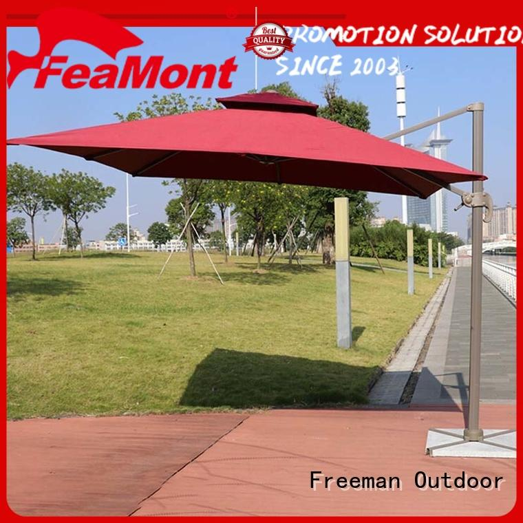 FeaMont high-quality black garden umbrella type for camping