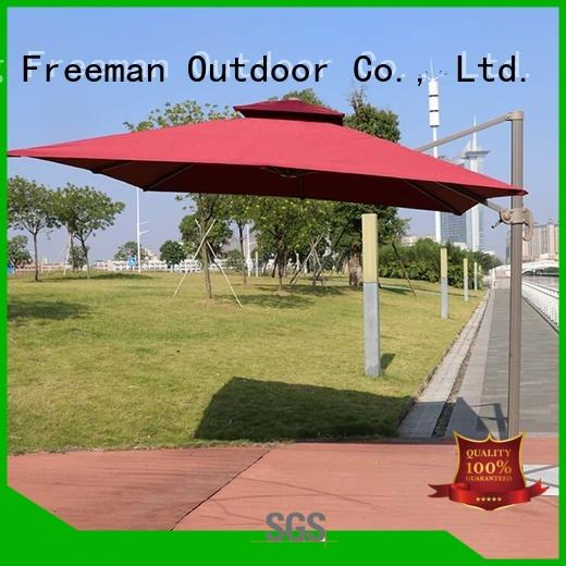 outdoor canvas garden umbrella solutions for sports FeaMont