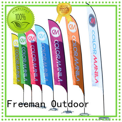 FeaMont fiberglass feather flags wholesale for outdoor exhibition