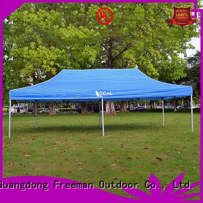 FeaMont printed 10x10 canopy tent popular for outdoor exhibition