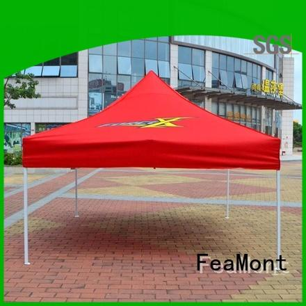 FeaMont printed pop up canopy tent certifications for sporting