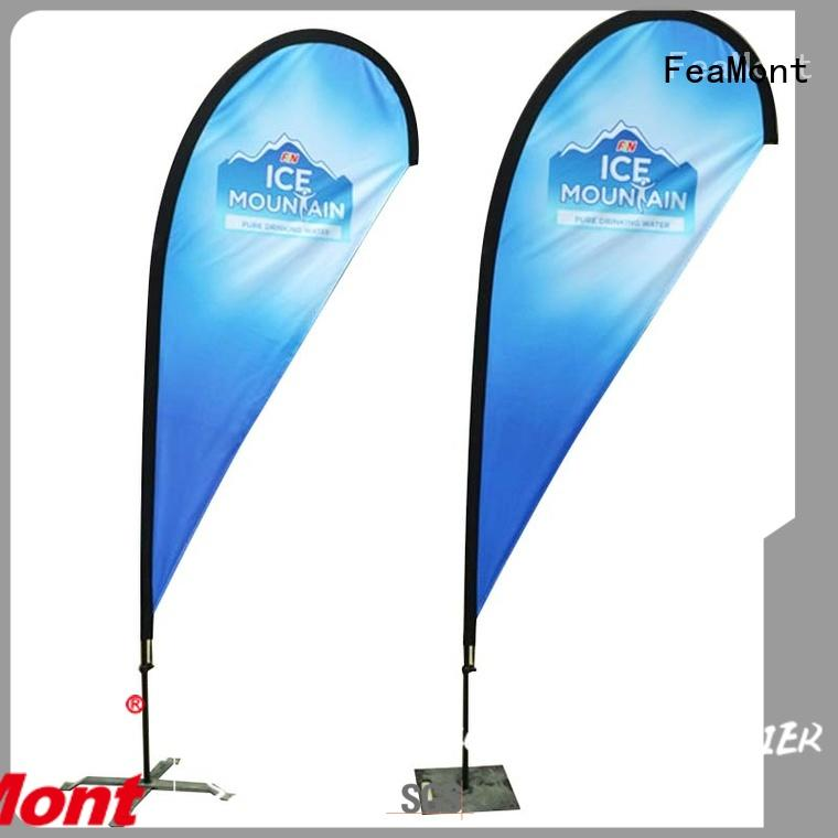 FeaMont palette beach flag banners cancopy for competition