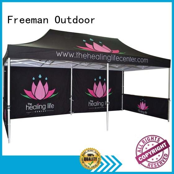 FeaMont designed easy up canopy certifications for outdoor exhibition