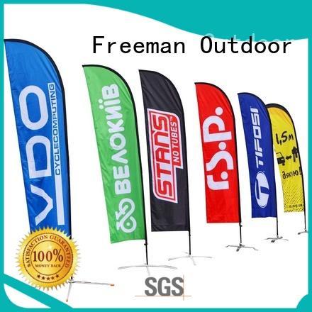 Freeman Outdoor stable mini beach flag wholesale