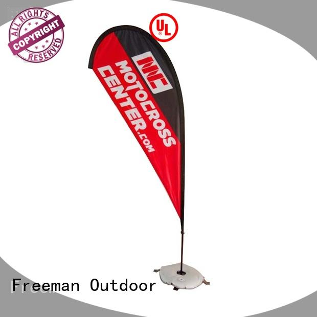 teardrop flag wind-force for sale for sports