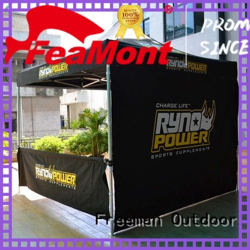 FeaMont colour advertising tent certifications for engineering