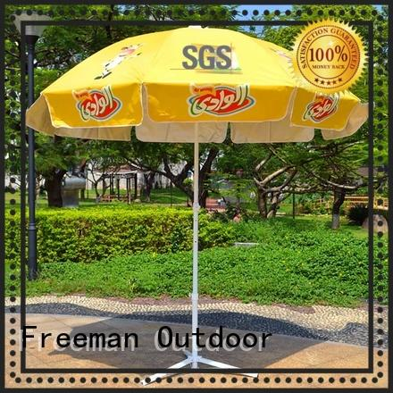 FeaMont popular pink beach umbrella quality for exhibition