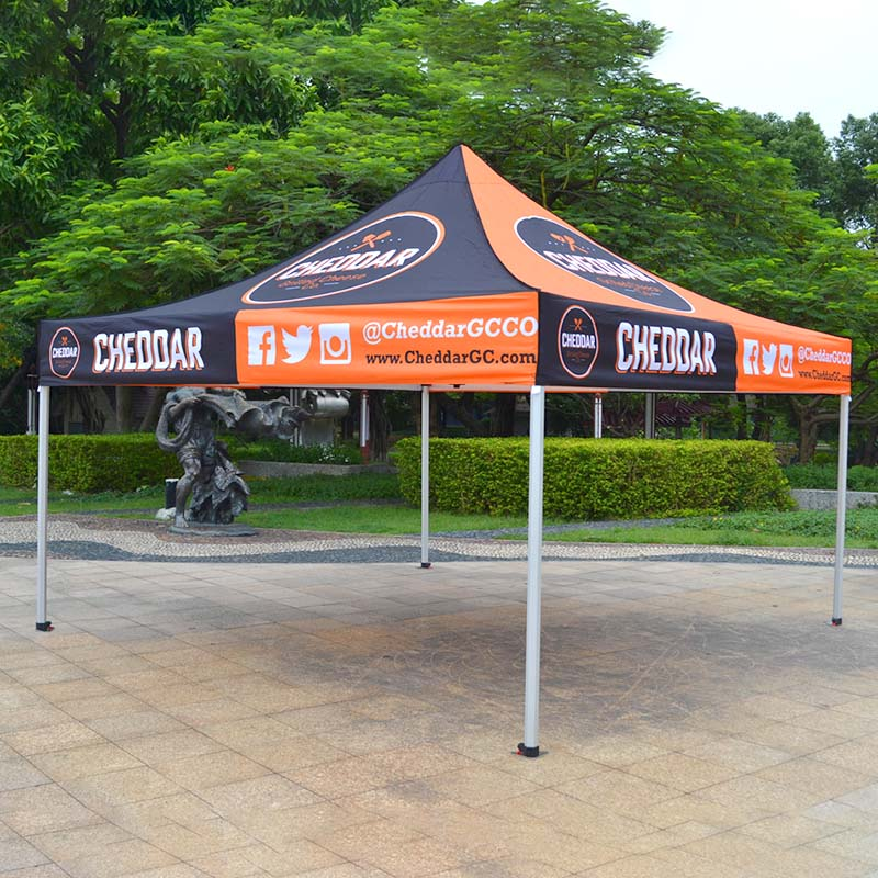 tube outdoor canopy tent can-copy for trade show FeaMont-1