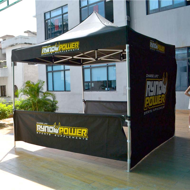 printed 10x10 canopy tent advertising widely-use for trade show-1