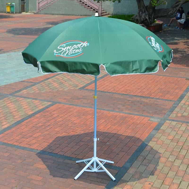 Beach Umbrella With Tassels For Advertising