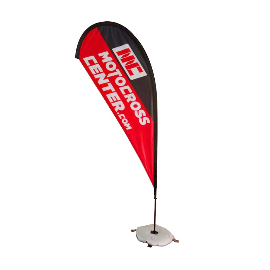 FeaMont aluminum teardrop flag certifications for outdoor activities-1