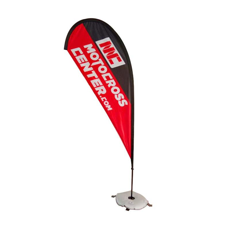 Feather Banner with Flag Pole Stand