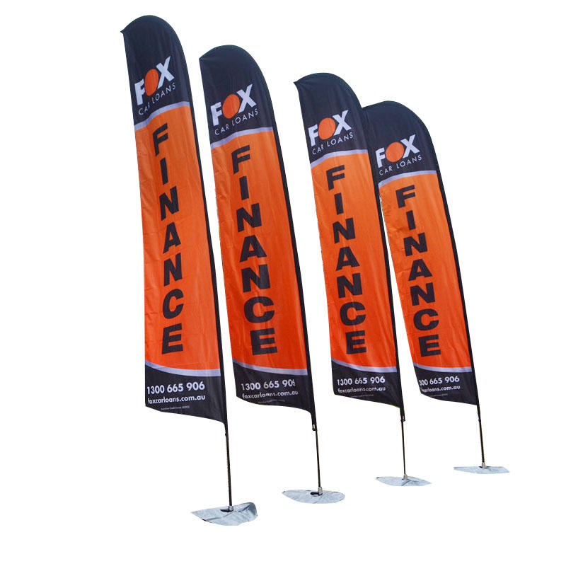 Outdoor Promotion Feather Flag