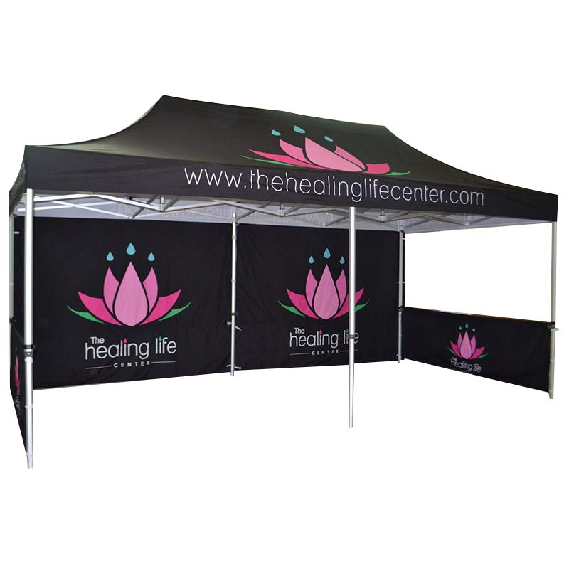 printed display tent show widely-use for engineering-1