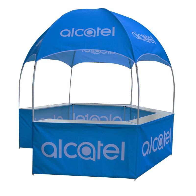 Hexagonal Exhibition Booth / Dome kiosk / Dome display tent