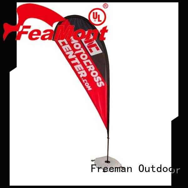 Freeman Outdoor customized flag printing for sale for engineering