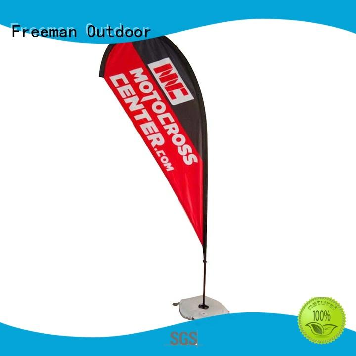 nice beach flag banners palette in different color for sport events