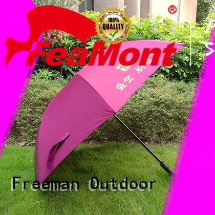 FeaMont printed new umbrella for event
