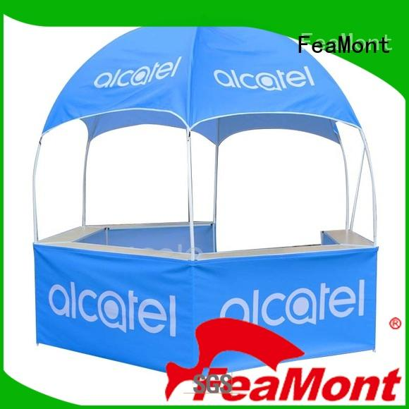 FeaMont steel dome kiosk package