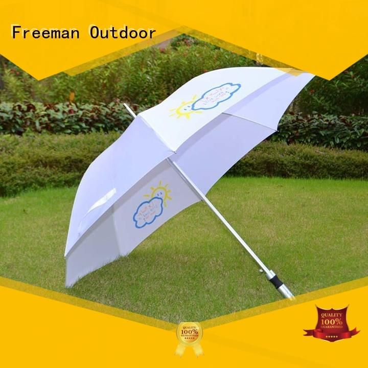 promotional umbrellas pongee for camping Freeman Outdoor